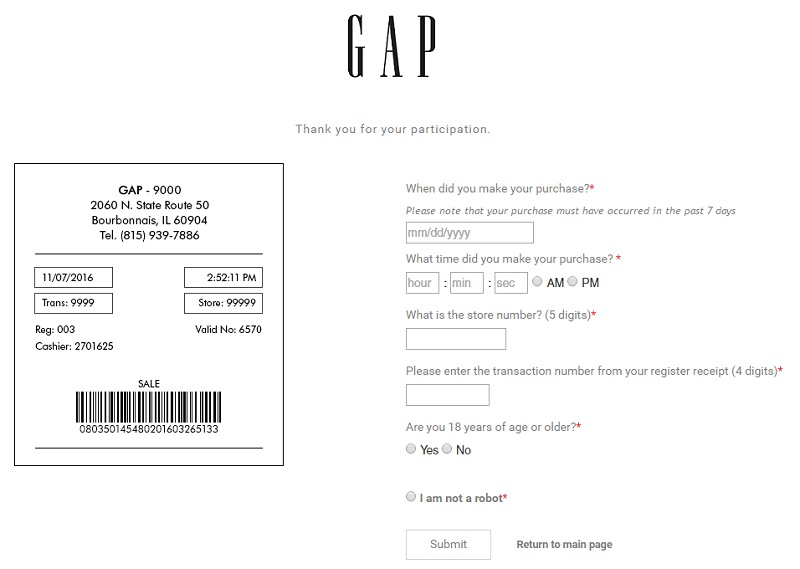 Gap Factory Outlet Coupon & Promo Codes