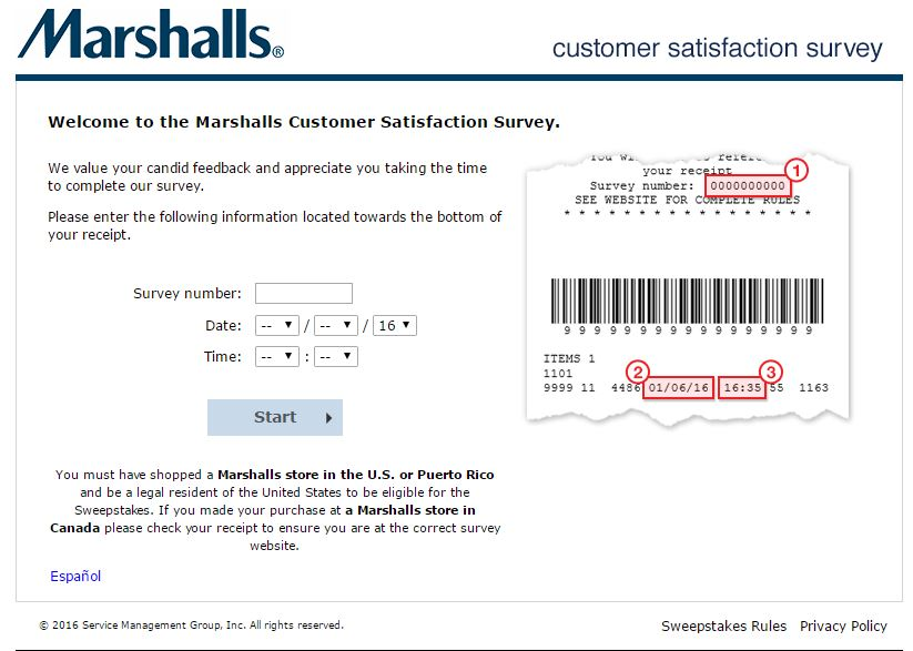Can you shop online at marshalls