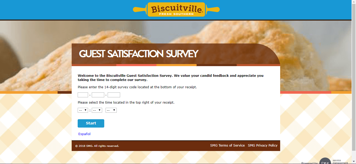 Biscuitville Survey main page