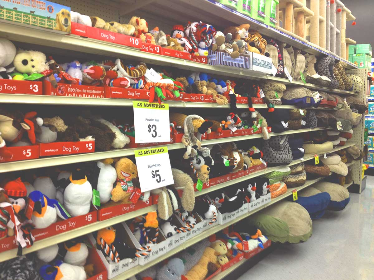 Big Lots toy section
