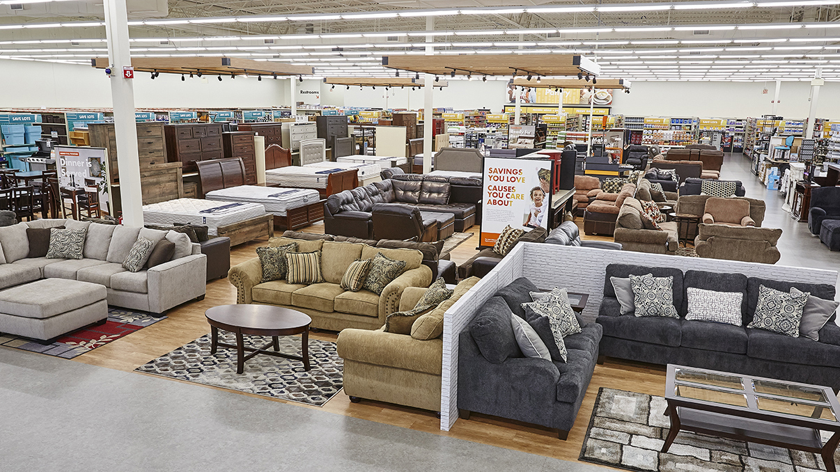 big lots furniture section