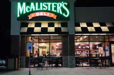 McAlister's Deli by Night